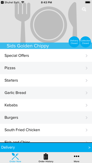 Sids Golden Chippy screenshot two