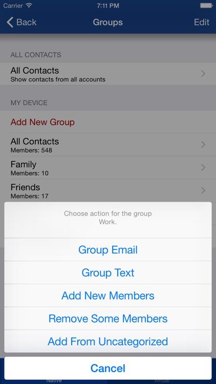 ContactsTap screenshot-3