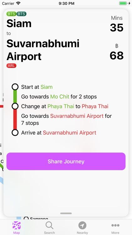 Bangkok Metro Transit Map