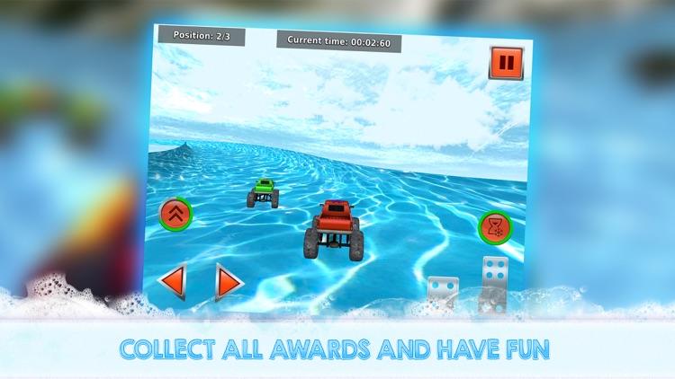 Monster Truck - Water Slide screenshot-3