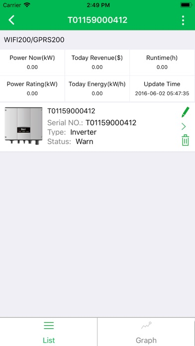 Screenshot for iSunnergy in South Africa App Store