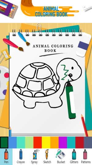 Animal Coloring Book Pages On The App Store