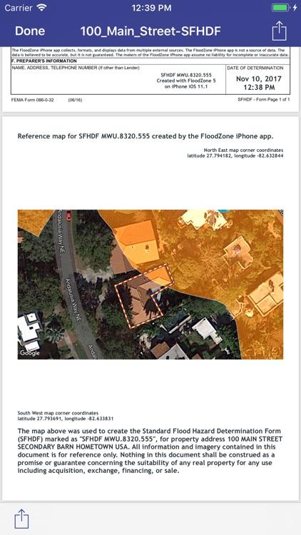 Flood Maps & ZDs screenshot-3
