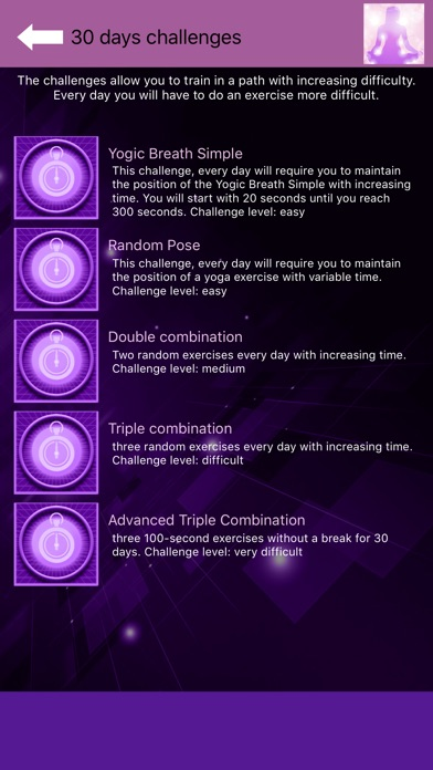 Yoga for beginners - YogaBot screenshot 7