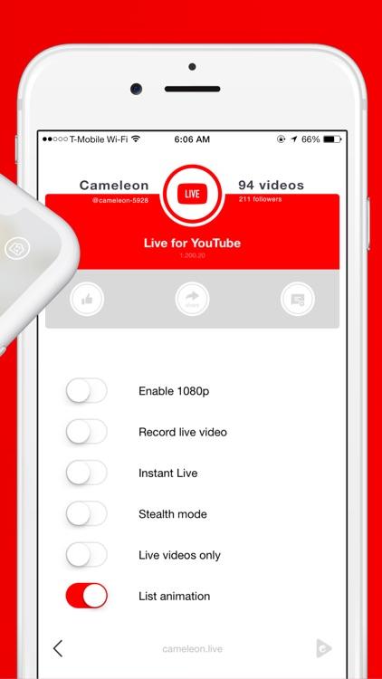 Live for YouTube screenshot-3
