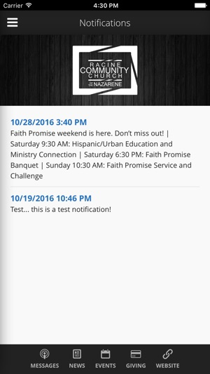 Racine Community Church on the App Store