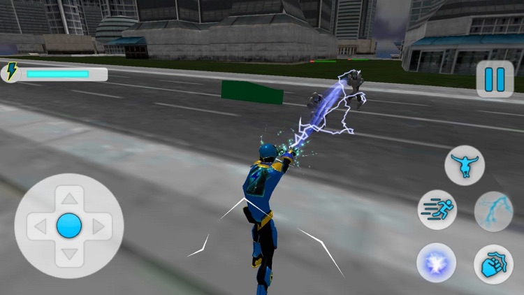 City Superhero Electric-Man screenshot-3