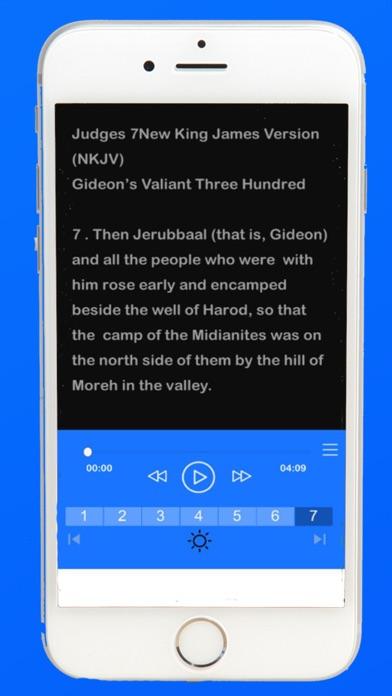 nkjv audio bible screenshot two