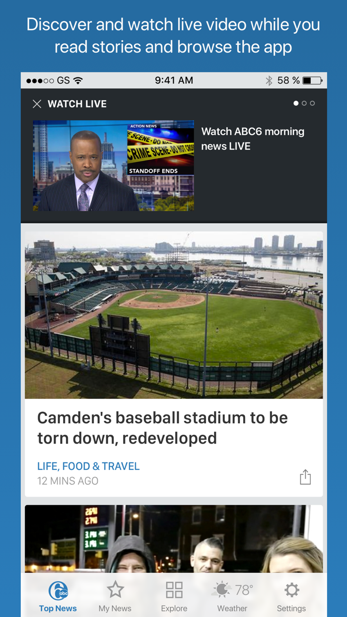 6ABC Philadelphia Screenshot