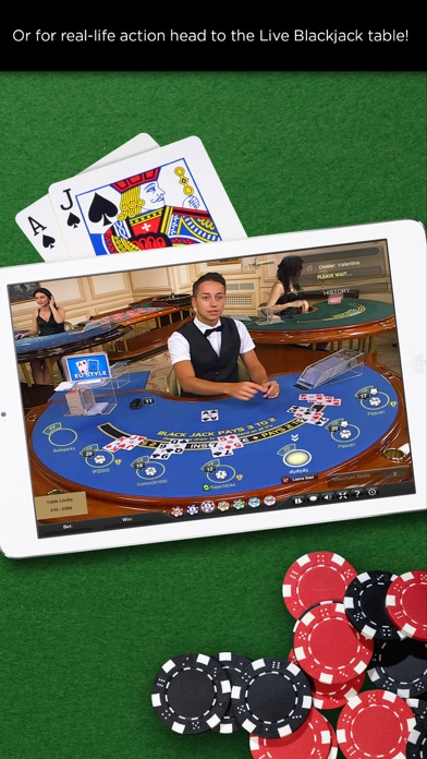 Casino.com - Blackjack screenshot three