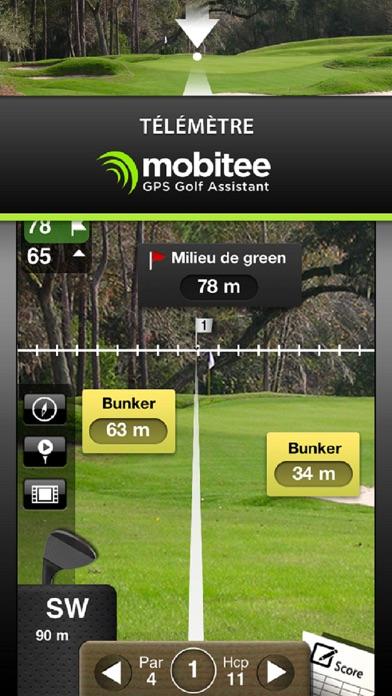 download Mobitee Golf GPS Télémètre apps 2