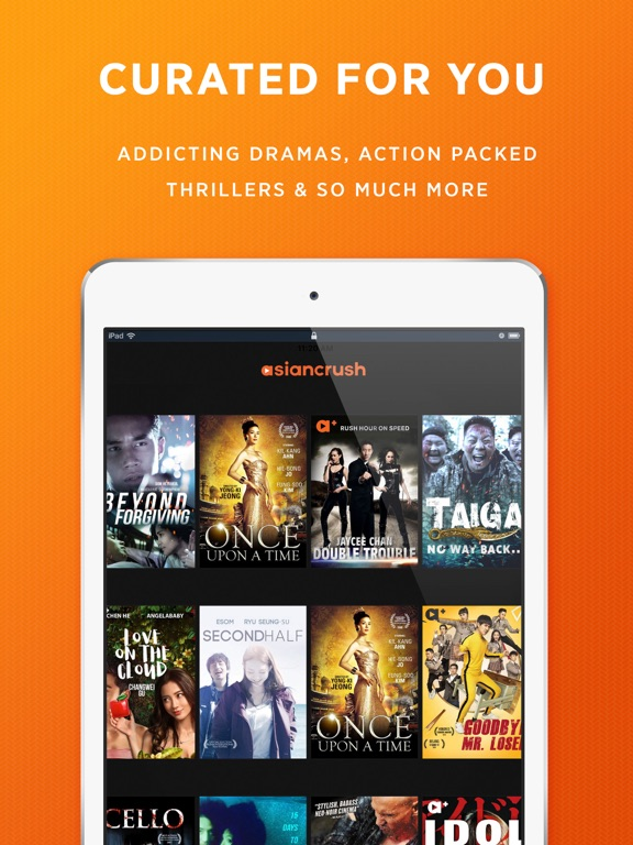 AsianCrush - Movies & TV by Asian Media Rights (iOS, United States