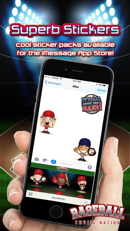 Baseball Emojis Nation screenshot-3