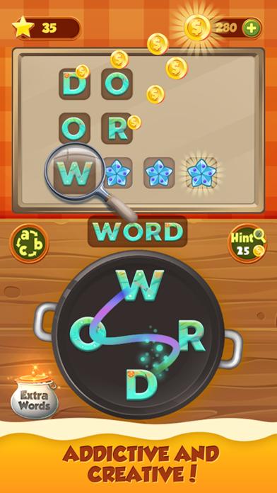 Word Chef 2018 - Word CookingScreenshot von 1