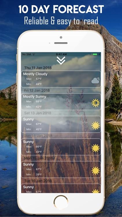 Universal Weather Forecast screenshot-3