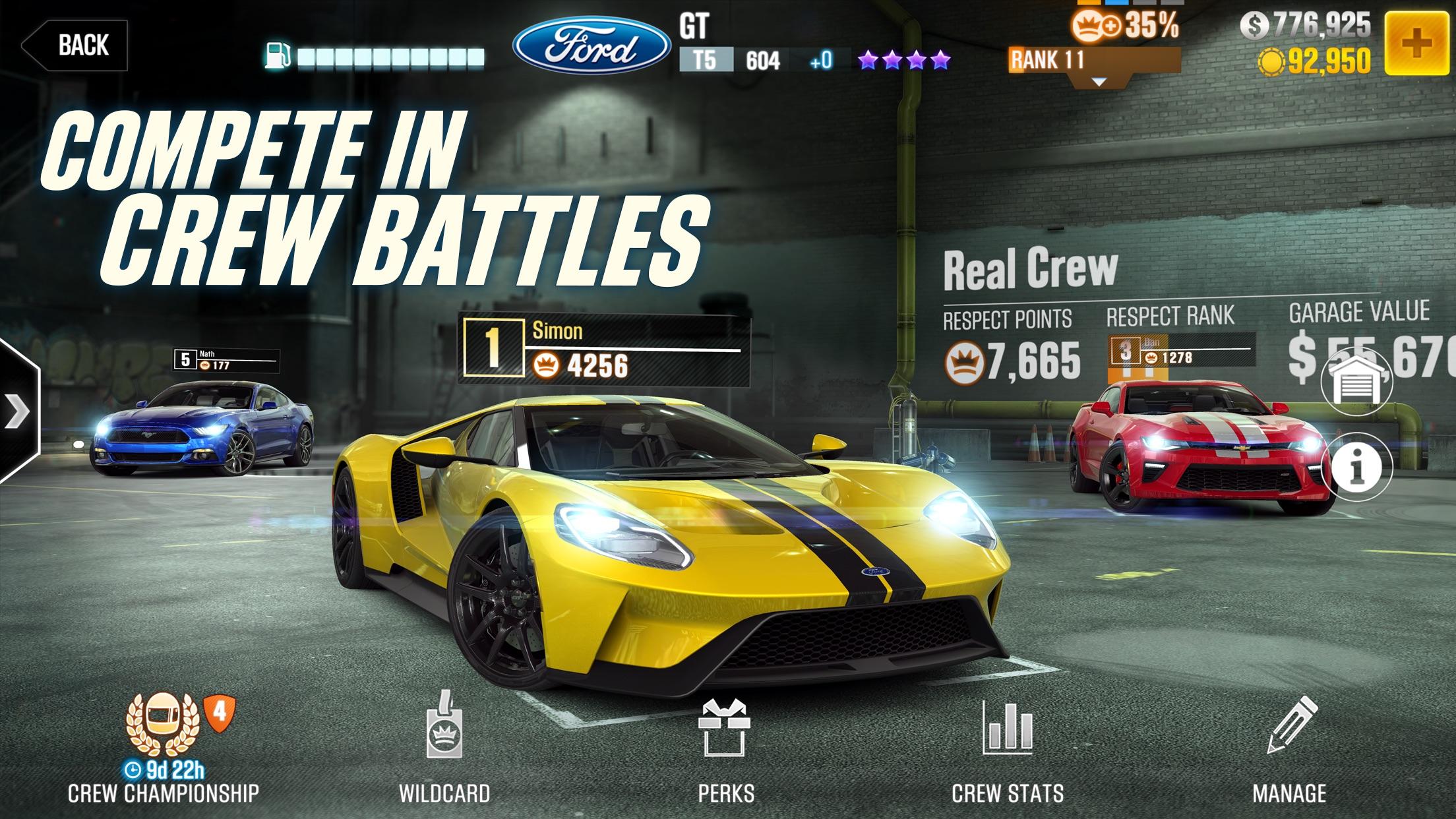 CSR Racing 2 Screenshot