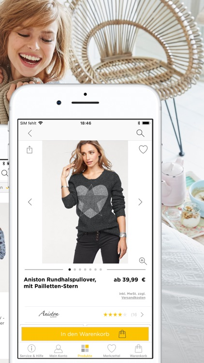 BAUR - Shopping App