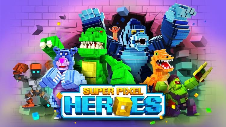 Super Pixel Heroes screenshot-0