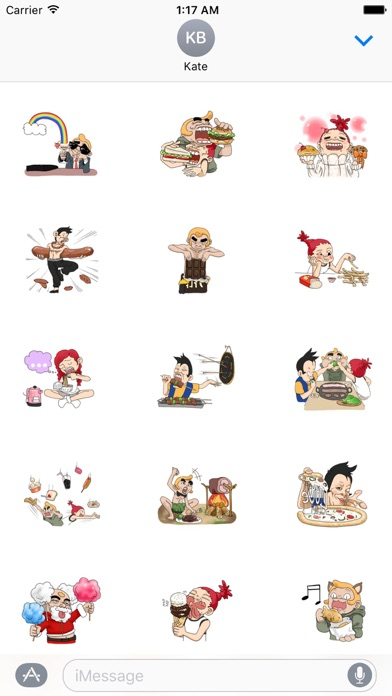 download We Love Food and Drink Sticker apps 1