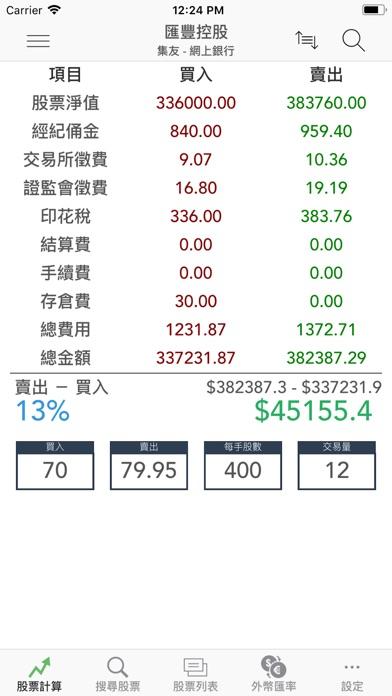 股票計算機屏幕截圖1