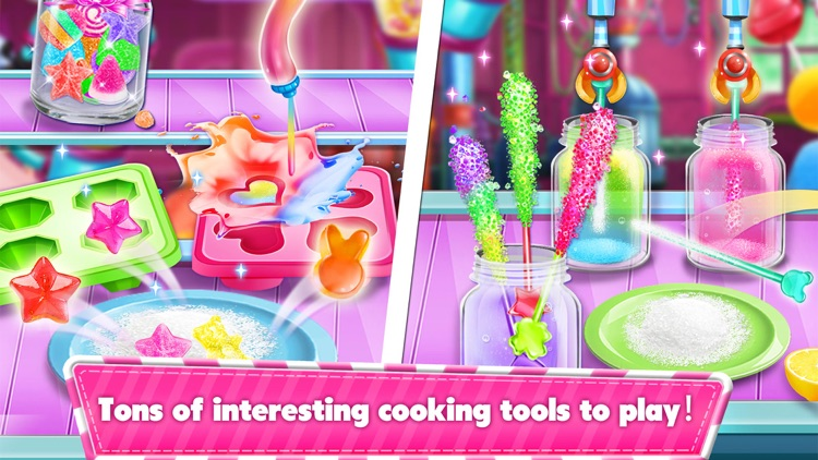 Sweet Candy Maker Games! screenshot-3