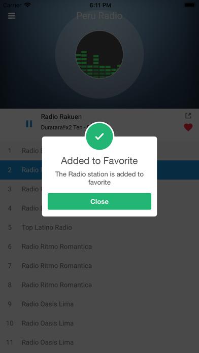 Peru Radio Station Peruvian FM screenshot four