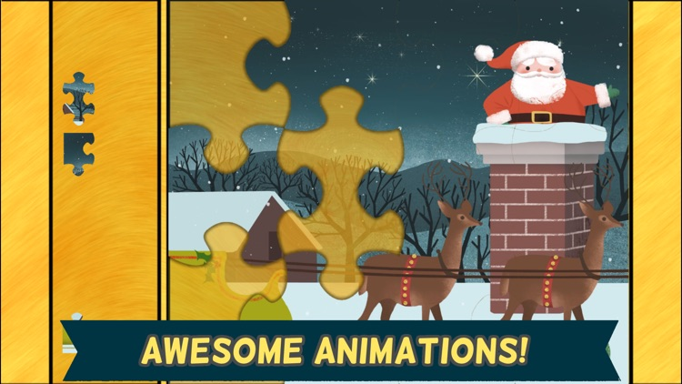 Christmas Games for Kids: Toddler Jigsaw Puzzles screenshot-3