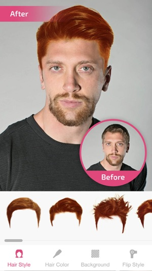 Hair Changer Hairstyle Makeover Hair Editor On The App Store