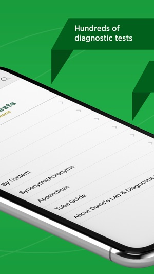 Davis's Lab & Diagnostic Tests on the App Store