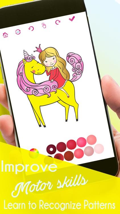Coloring Book&Games: Colorful screenshot-3