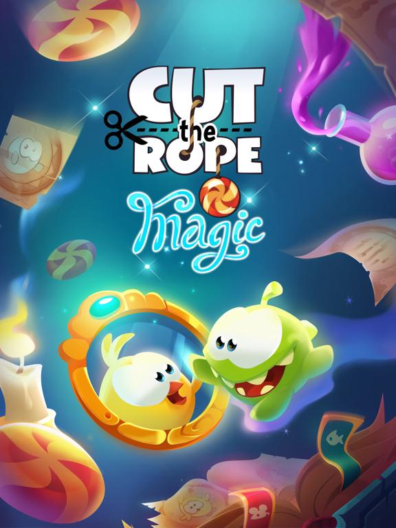 Игра Cut the Rope: Magic GOLD