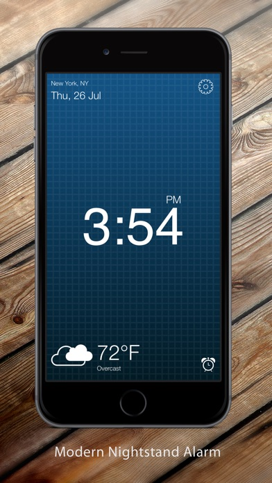 ClockIT-Alarm & Weather Clock Screenshots