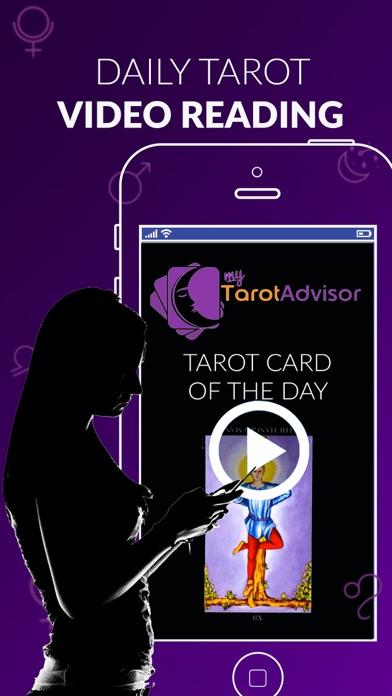 My Tarot Advisor: Video Advice app image