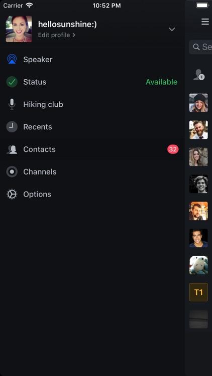 Zello Walkie Talkie screenshot-4