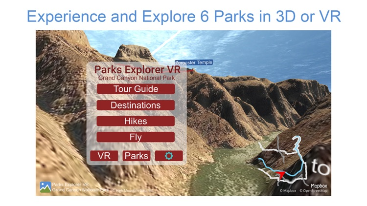 Parks Explorer VR - USA West screenshot-0