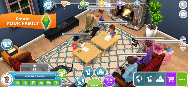 The sims freeplay on the app store for Virtual flooring app
