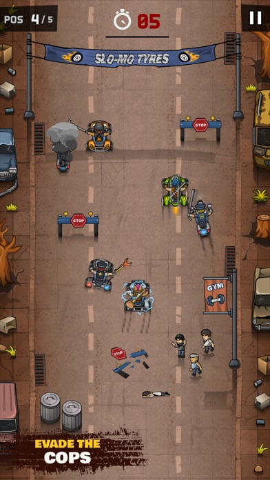 Rude Racers! Screenshot 5