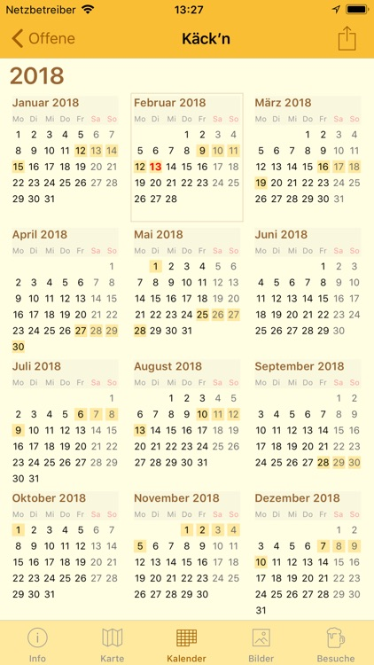 Zoigl-Kalender screenshot-3