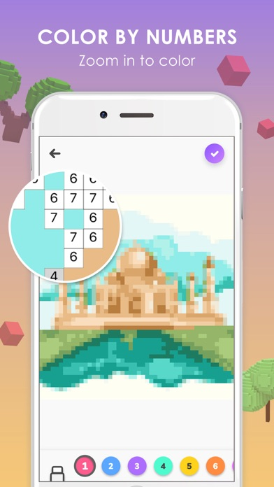 Pix Up - Color by Numbers screenshot 1