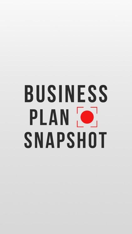 Business Plan Snapshot