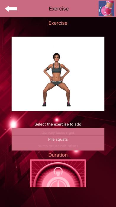 Buttocks Workout - Squat Bot screenshot 6