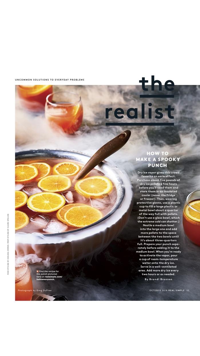 REAL SIMPLE Magazine Screenshot