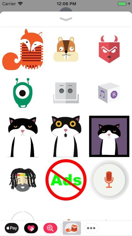 Voxys Stickers