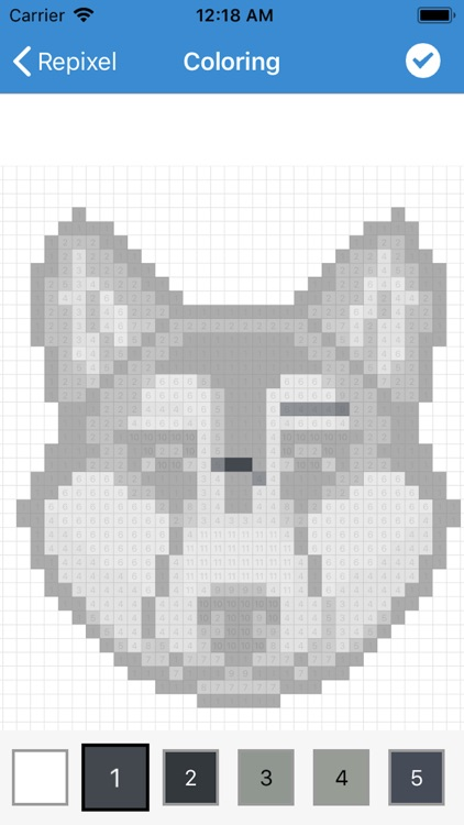 Pixel Art - Tap Number Picture