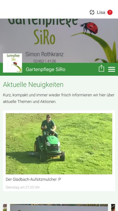 Gartenpflege SiRo screenshot 1