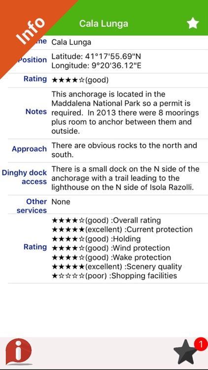 Boating Corsica Nautical Chart screenshot-3