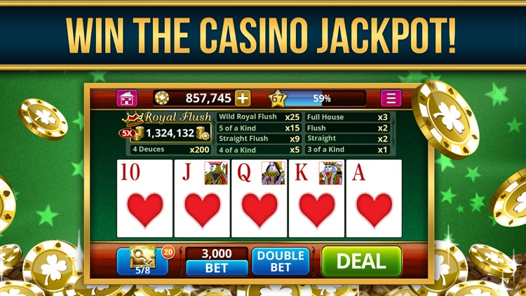 Video Poker Casino Card Games