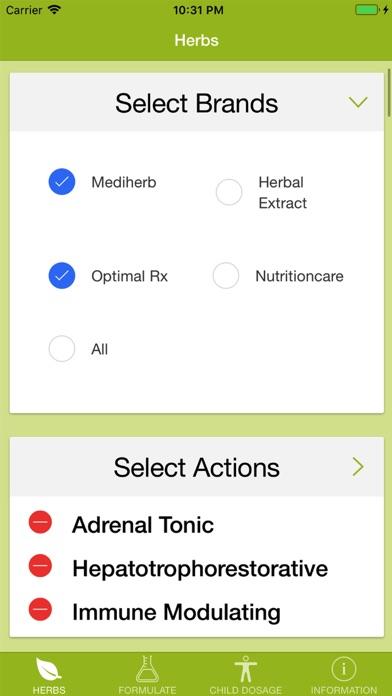 Herbal-Pro screenshot two