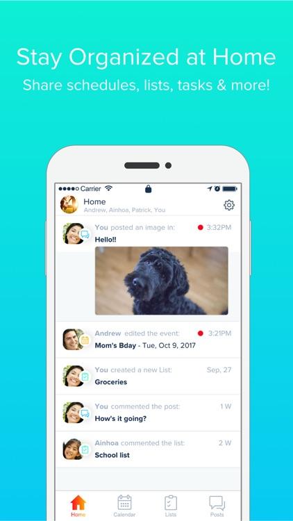 Hub Family Organizer screenshot-0