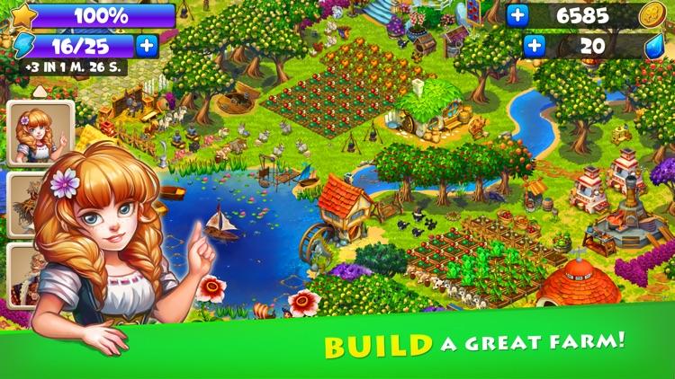 Farmdale - Magical world family farm screenshot-0